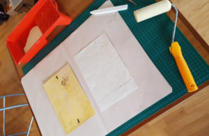 16-pasting-on-patterned-papers