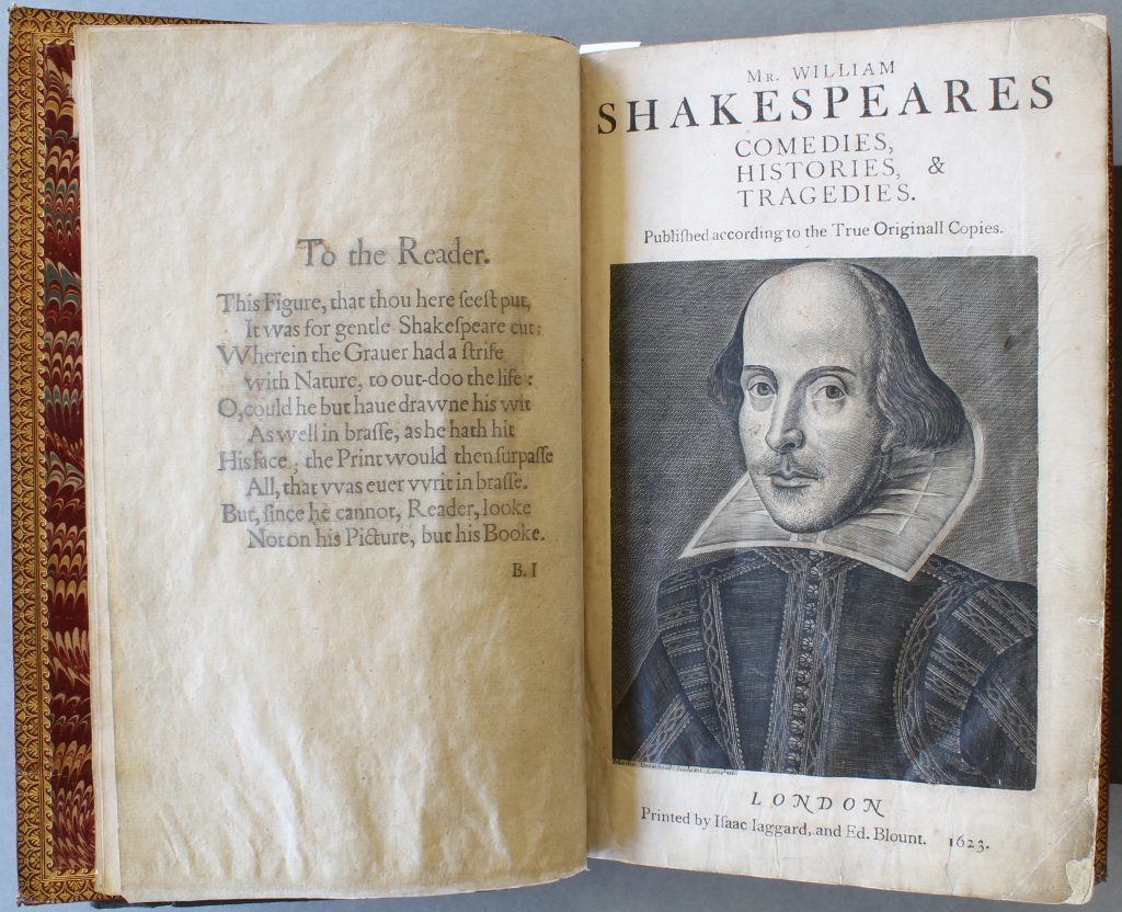 Shakespeare's First Folio at the Library of Birmingham treated following a collection survey.