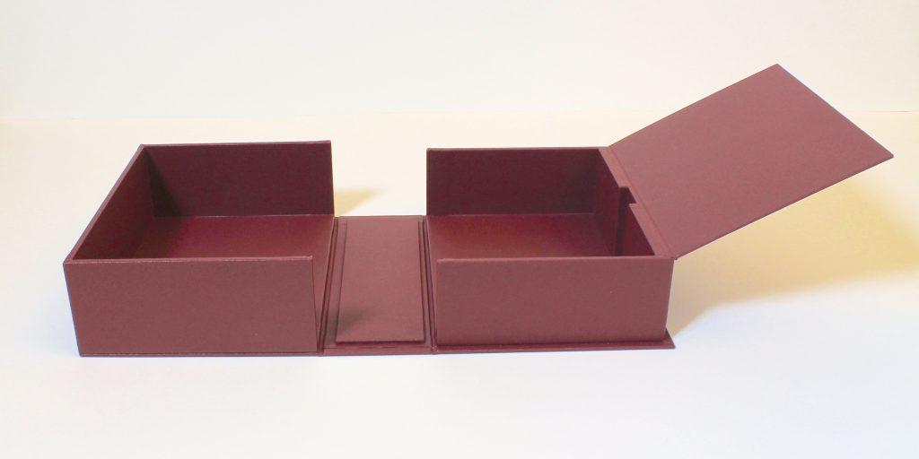 cloth drop-back box